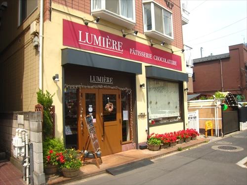 LUMIE`RE1店頭