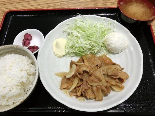 くりえ亭5・しょうが焼き定食