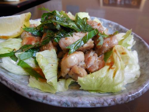 写真14:鶏肉の香味焼き(アップ)