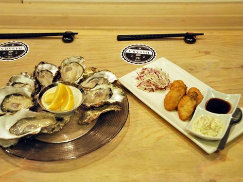 牡蠣BASARA11生牡蠣と牡蠣フライ