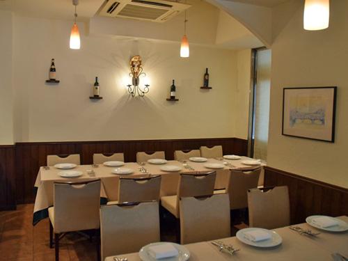イタリア料理 ラ・ルーチェ2店内