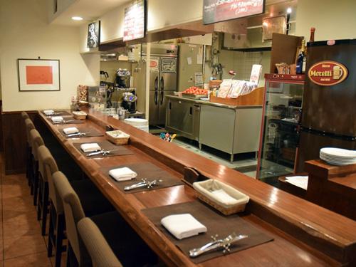 イタリア料理 ラ・ルーチェ3店内