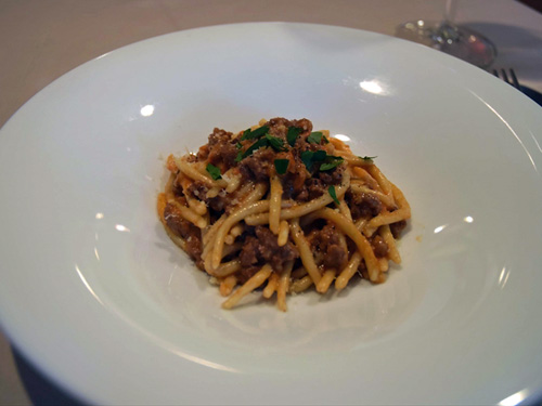 イタリア料理 ラ・ルーチェ6自家製ストロッツァプレーティ